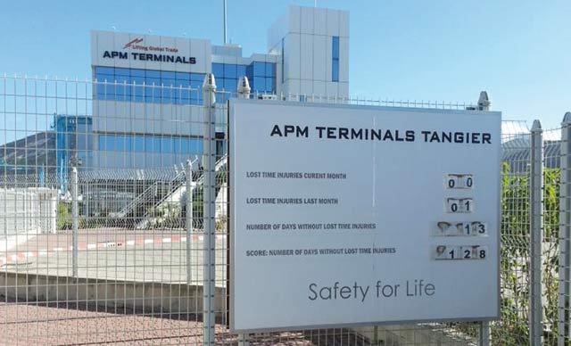 L'opérateur APM Terminals Tangier récompensé