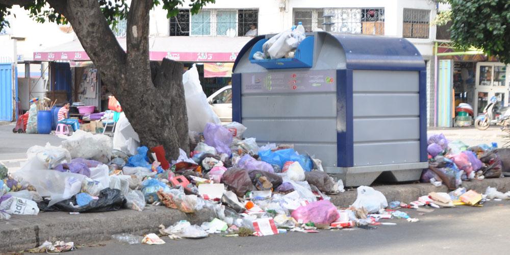 Le Maroc produit 80 à 126 tonnes de déchets par seconde