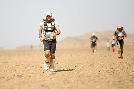 Marathon des sables : Au bout de l'effort