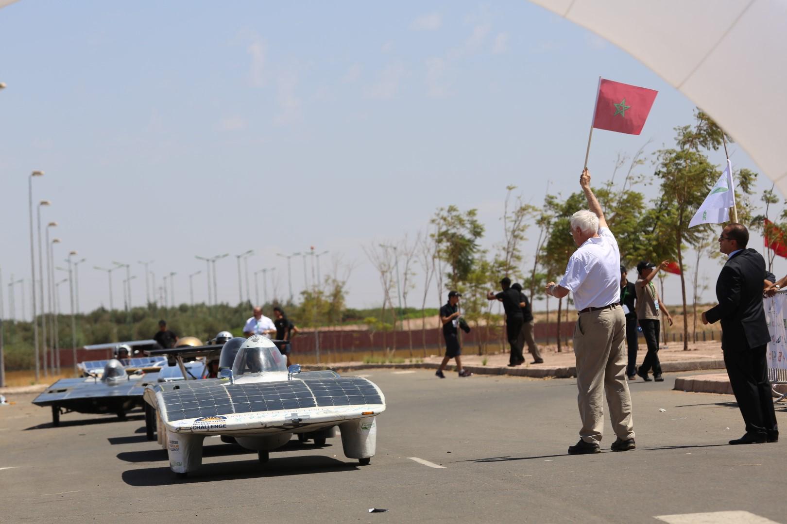 COP22 : 4ème édition du Moroccan Solar Race Challenge
