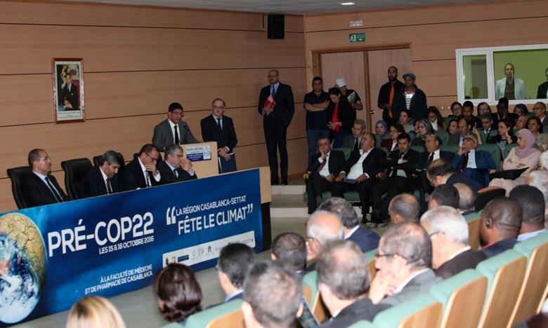 Pré-COP22 : La Région Casablanca-Settat prend de fortes résolutions
