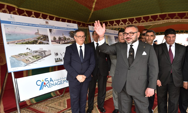 Mosquée Hassan II : Cure de jouvence pour la promenade maritime