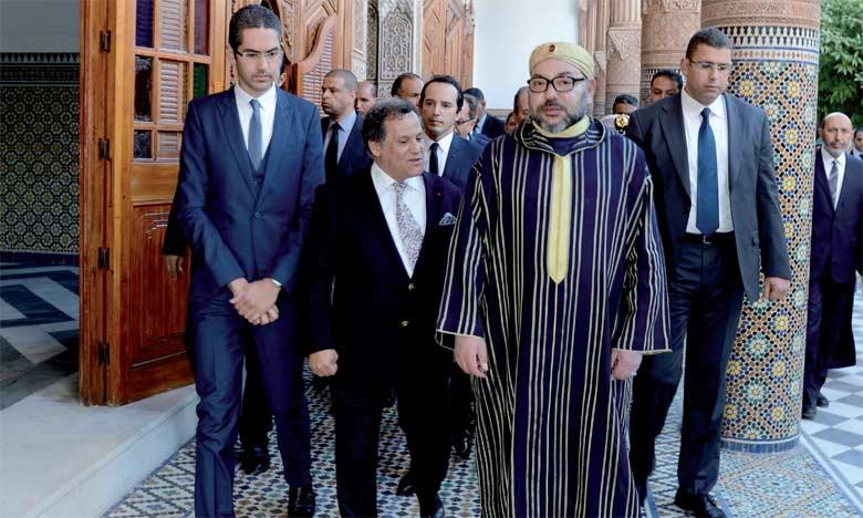 Le Roi lance d'importants projets à Marrakech
