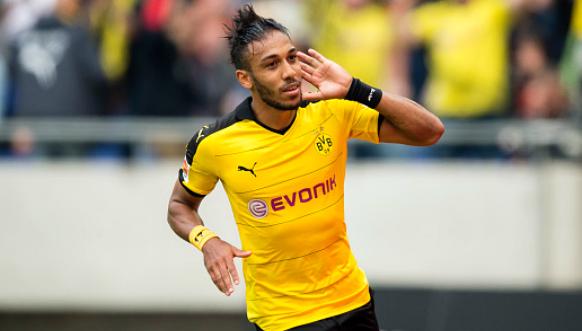 Le Gabonais Aubameyang élu meilleur joueur de la Bundesliga
