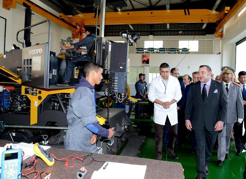 BTP : Le Roi inaugure une école à Settat pour 312 MDH