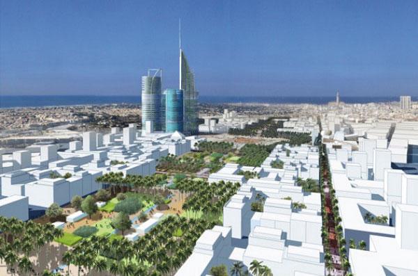 Casablanca Finance City sur le toit de l'Afrique