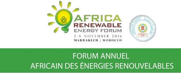 Marrakech accueille le 1er Forum annuel international sur les énergies renouvelables en Afrique
