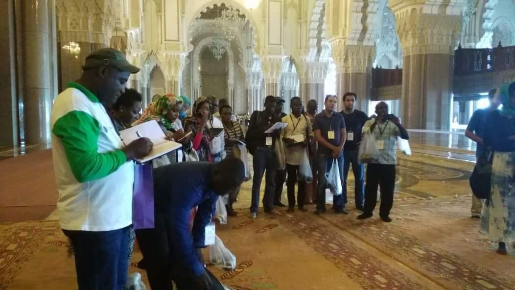 55 journalistes africains s'imprègnent de la COP22 au Maroc