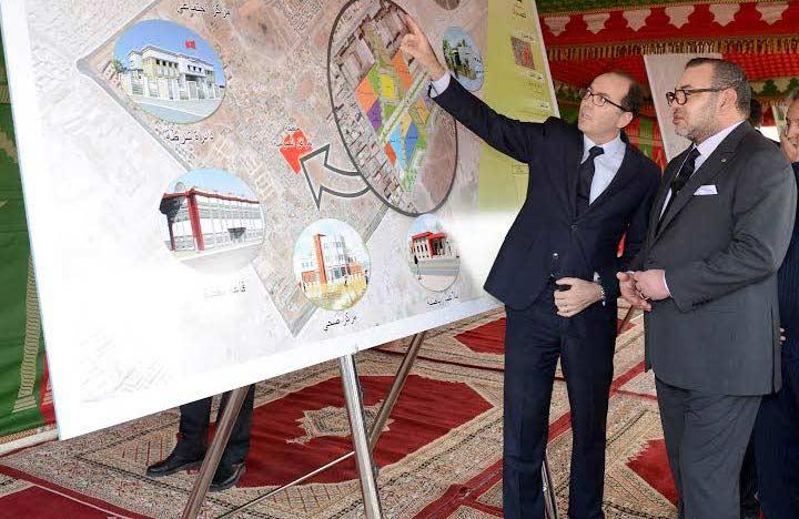 Le Roi lance des projets pour 321 MDH à Moulay Rachid