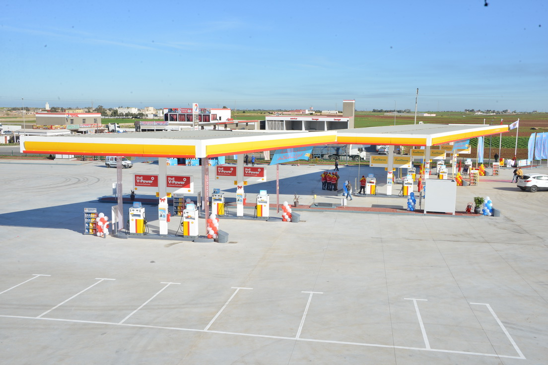 La plus grande station-service Shell au Maroc inaugurée